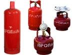 Пропановые (газовые) баллоны и комплектующие