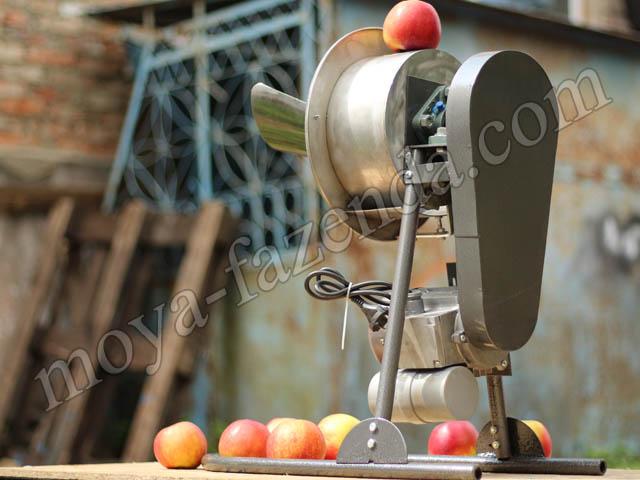 Приспособление для резки яблок на сушку своими руками 39