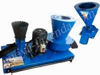 Полный набор для гранулирования (гранулятор, сеноизмельчитель, зернодробилка)