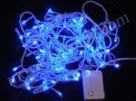 Новогодняя синяя гирлянда (100 светодиодов)