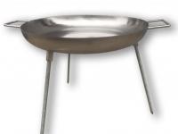 диск сковорода нержавеющая