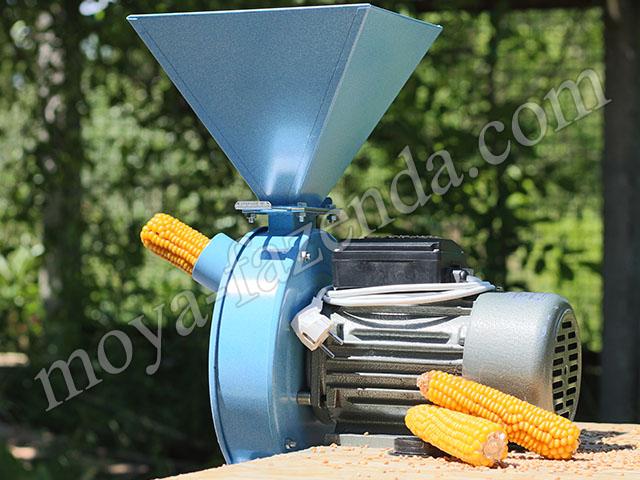 Дробилка качанов кукурузы купить сотторива дробилка для сахара