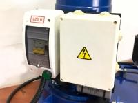 гранулятор с однофазным двигателем