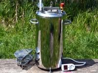 Автоклав с электрическим нагревом и блоком управления (нержавеющая сталь)