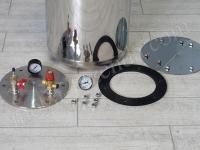 автоклав с биметаллическим термометром
