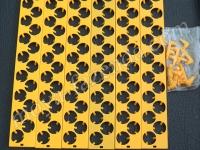 Секции автоматического переворота для перепелиных яиц