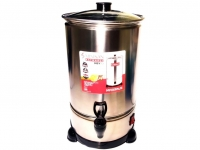 Домашняя маслобойка для сливочного масла Minisan (нержавейка, 10 литров, с краном)