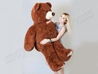 Плюшевый бурый медведь