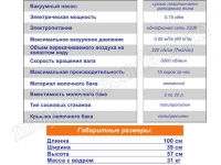 технические параметры Буренка-2