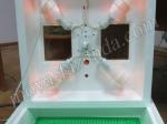 ламповый нагрев в инкубаторе