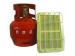 Газовый набор для обогрева помещений (керамическая горелка 2,3 кВт + баллон 5 л)