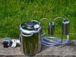Электрический самогонный аппарат (нержавеющая сталь)