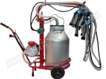 Передвижной аппарат для доения 2-х коров