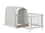 Стеклопластиковый домик для теленка