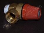 Аварийный (взрывной, предохранительный) клапан для автоклава