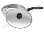 Алюминиевая сковородка с крышкой