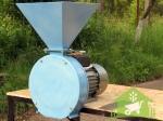 Электрическая молотковая зернодробилка Лан