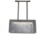 Оцинкованная лопата для уборки снега