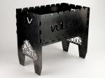 Мангал Vulkan разборный 3 мм на 10 шампуров