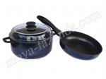 Кухонный набор: кастрюля и сковорода