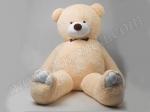 Плюшевый медведь гигантский Бежевый