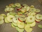 подготовка яблок на сушку