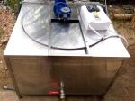 Сыроваренный котел с мешалкой и функцией автоматической пастеризации С 100