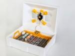 Ламповый инкубатор Теплуша Люкс с автопереворотом яиц