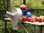 Электрический измельчитель для яблок из нержавейки